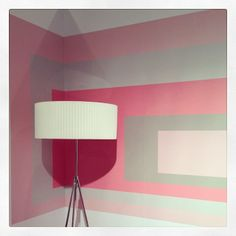 Pink and grey booth of Rottet Collection.