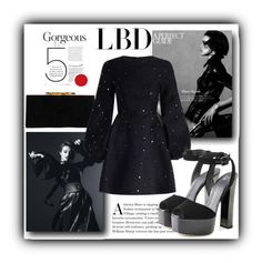 """""""LBD"""" by rocio-martinez-1 ❤ liked on Polyvore featuring Jimmy Choo, Zimmermann, Giuseppe Zanotti and LBD"""