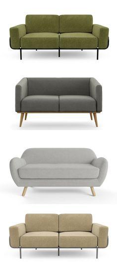 Designer Sofas, Couches & Lounges www.brosa.com.au