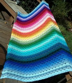 I HAVE to make this. I love it!   crochet afghan   Tumblr
