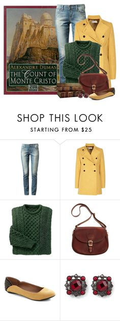 """""""The Count of Monte Cristo"""" by ameve ❤ liked on Polyvore featuring Paige Denim, Paul & Joe, J.W. Hulme Co. and White House Black Market"""