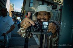 cor fotografia de rua por Markus Hartel, New York