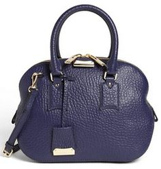 Gorgeous #Burberry satchel in #navy @Nordstrom  http://rstyle.me/n/ixmpznyg6