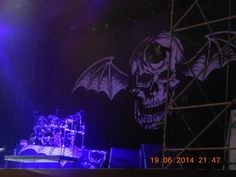 Rock in Roma Hail to the king tour 2014 A7X
