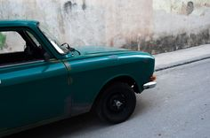 Old car crush