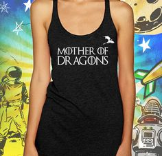 Mother of Dragons Women's Tank Top Game of Thrones