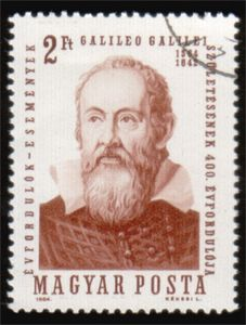 Literary Stamps: Galilei, Galileo (1564 – 1642)