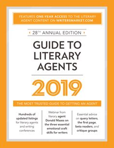 """Read """"Guide to Literary Agents 2020 The Most Trusted Guide to Getting Published"""" by available from Rakuten Kobo. The Best Resource Available for Finding a Literary Agent! No matter what you're writing--fiction or nonfiction, books fo. Fiction Writing, Writing Advice, Writing A Book, Writing Jobs, Writing Poetry, Writing Help, Good Books, Books To Read, Marketing Pdf"""