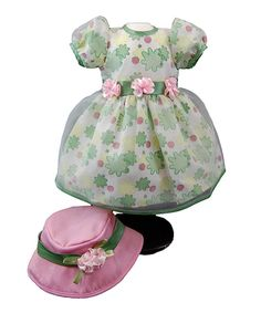 Another great find on #zulily! Floral Dress Outfit for 18'' Doll by The Queen's Treasures #zulilyfinds