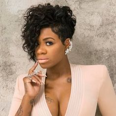 The pixie hairstyles for black women - Hairstyles 2017 Short Curly Hair, Short Hair Cuts, Curly Hair Styles, Natural Hair Styles, Curly Bob, Curly Pixie, Thick Hair, Pixie Cut, Pixie Hairstyles