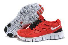 Damen Nike Free Run 2 Schuhe - rot
