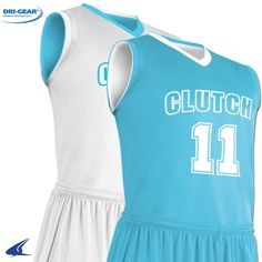 62f61d9ae2c4 Clutch Z-Cloth Dri Gear Reversible Basketball Jersey by Champro Sports  Style Number BBJ11.