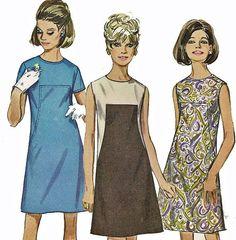 samantha stevens clothing   Vintage 1960s Bewitched Samantha Stevens Sleeveless A Line Dress ...