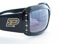 Purdue Boilermakers Womens Black Fashion Sunglasses