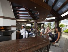 Divi Aruba All Inclusive Resort - pizza bar!