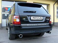 REALIZACJA: Range Rover Sport HSE  Kolejny z naszych nietypowych gości. Wersja Sport angielskiego arystokraty odwiedziła nasz serwis w celu montażu tłumików oraz końcówek wydechu Remus.  Po całej operacji Range może poszczycić się nie tylko niezwykle basowym brzmieniem, ale także sporych rozmiarów podwójnymi końcówkami, które świetnie uzupełniają się z masywną bryłą SUVa!  Remus Polska http://www.remus-polska.pl/