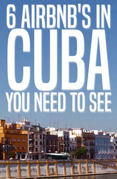 Lodging in Cuba is simple: stay in a casa particular/Airbnb. You must see these six incredible Airbnbs in Cuba! Travel Guides, Travel Tips, Travel Photos, Cuba Travel, Beach Travel, Mexico Travel, Spain Travel, Places To Travel, Places To Visit