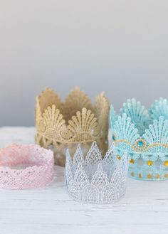 Ready to make your little prince or princess a crown of their very own? We loved…