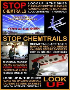 Chemtrails the government is not spraying anything toxic in the air. They tested this stuff and it was water vapor. It amazes me that people think that the government can keep something a secret. Dislike, Pseudo Science, Science Fun, Question Everything, New World Order, Conspiracy Theories, Global Warming, Looking Up, Climate Change