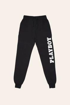 Playboy Basics Logo Jogger Pants | Playboy Women's | Playboy Shop