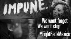 #Ayotzinapa #YaMeCanse We Wont forget! We wont stop!