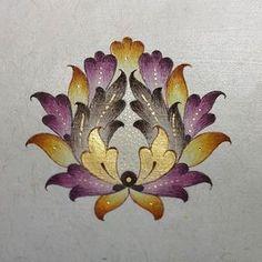 Bahar çiçeği/spring flower Fabric Painting Tutorial: Within this tutorial we'll tell you guidelines Islamic Art Pattern, Arabic Pattern, Motifs Islamiques, Illumination Art, Persian Pattern, Turkish Art, Mandala Drawing, Motif Floral, Calligraphy Art