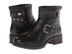Earth Redwood Black Tumbled Leather - Zappos.com Free Shipping BOTH Ways