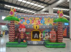 Inflatable Treasure trove bouncer, kids Bouncers, inflatable Bouncers exporter