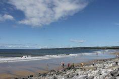 Lahinch beach.  2014, the warmest summer in 50 years.  #ireland #unforgettablesummer #athlanticocean #amazingplace
