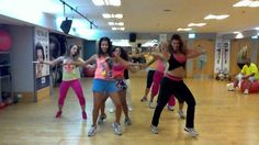"Zumba with Shlomit (Salo) - Gloria Estefan ""Wepa"""