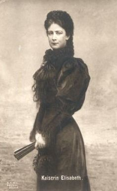 Kaiserin Elisabeth von Österreich, Empress of Austria by Miss Mertens, via Flickr