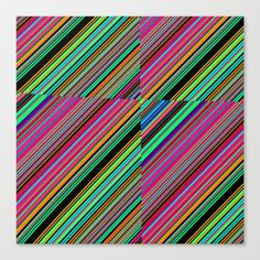 Re-Created Cross No. 22  #Stretched #Canvas by #Robert #S. #Lee - $85.00