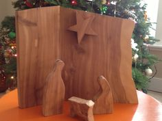 LOVE this nativity set