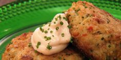 Restaurant style crab cakes you can make at home, make them with spicy mayo and your family will think it's take out!