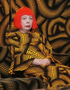 Yayoi Kusama - The Princess of Polka Dots.  Retrospective at the Whitney Museum of American Art. July 7th - September 30th, 2012.