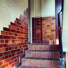 #wallcandywednesday #beautiful #brickwork #tiles outside a period flat we are renovating. For the interior we are repeating the brickwork pattern with new coloured brick tiles in the bathroom and kitchen. #absoluteprojectmanagement #renovatedontrelocate