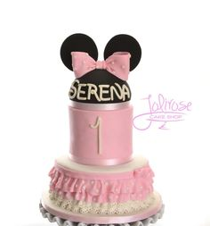 Frilly Minnie - Cake by Jolirose Cake Shop