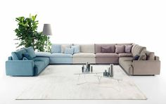 Ecléctico from the new Ditre Italia collection: a sofa made on you.