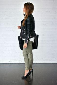 leather & khaki