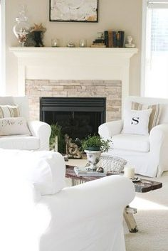 Gorgeous Small Fireplace Makeover Ideas 10