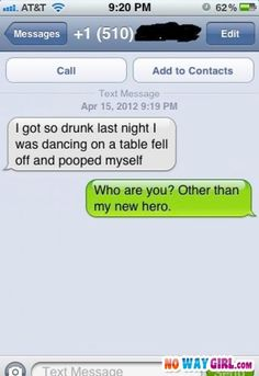 44 Ideas for funny humor laughing so hard hilarious laughter numbers Drunk Texts, Funny Texts, Funny Wrong Number Texts, Stupid Texts, Random Texts, Just For Laughs, Just For You, Haha Funny, Funny Stuff