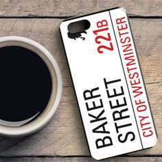 Baker Street 221B Sign iPhone SE Case | casefantasy