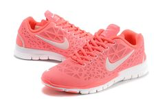sale retailer 9cadb 65f4e Fit 3 Breathe Womens Popping Pink Silver White 579968 com full off Nike  Free TR Fit III for off all