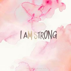 I AM STRONG – Guest Post by Sarah Duron + Free Tech Download