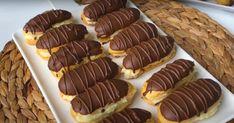 Pastane Usulü Ekler Tarifi, Kaç Tane Yediğinizi Sayamayacaksınız Profiteroles Recipe, Mini Cupcakes, Food Art, Lunch Box, Food And Drink, Lose Weight, Cookies, Desserts, Cook