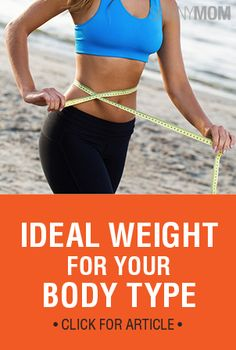 Get ideal weights for different body types!