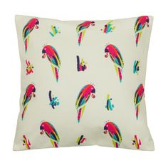 Buy Chumbak Parrots Cushion Cover Online - Chumbak
