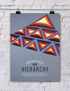 Principles of Design Poster Series / Paper Art by Efil Türk, via Behance