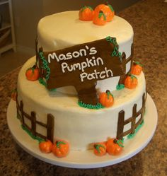 Andreas Cakes: Pumpkin Patch Birthday