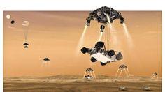 """Obama: """"Llegada de Curiosity a Marte es una hazaña tecnológica sin precedentes"""""""